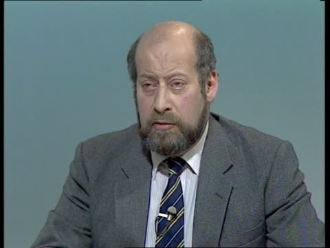 bermondsey byelection live part one england london itn clement freud mp neil kinnock mp and cecil parkinson mp live - nachwahl stock-videos und b-roll-filmmaterial