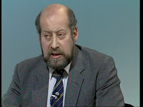 bermondsey byelection live part two england london itn cecil parkinson mp neil kinnock mp and clement freud mp live on byelections on conservative... - nachwahl stock-videos und b-roll-filmmaterial