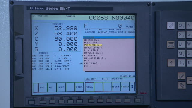 Special computer program in a forging factory