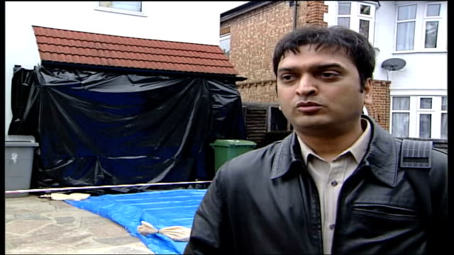 special constable nisha patel nasri murder appeal for information england london wembley milan kamdar interview sot family are all together consoling... - other stock videos & royalty-free footage