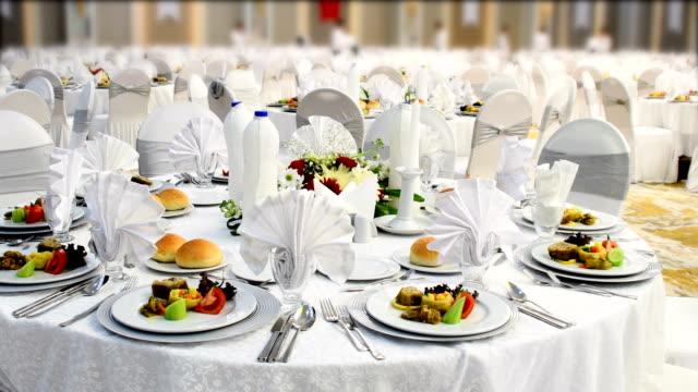 special dinner - nightlife stock videos & royalty-free footage