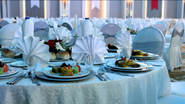 special dinner - gala stock videos & royalty-free footage