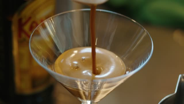 special drink for special occasion - espresso stock videos & royalty-free footage