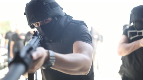 special forces - terrorism stock videos & royalty-free footage