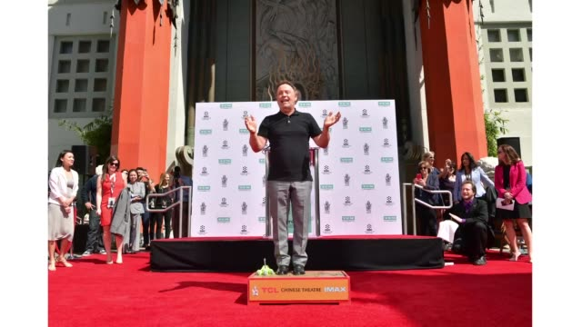 Special Guest Billy Crystal attends the Hand and Footprint Ceremony Billy Crystal at the 2019 10th Annual TCM Classic Film Festival on April 12 2019...
