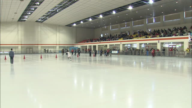 special olympics - ice rink stock videos & royalty-free footage