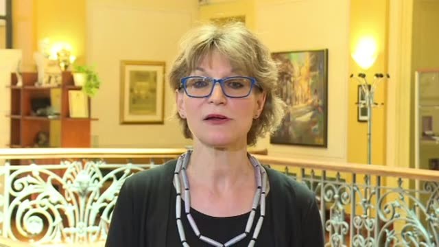 un special rapporteur on extrajudicial summary or arbitrary executions agnes callamard says there is credible evidence that saudi arabia is linked to... - esecuzione pubblica video stock e b–roll