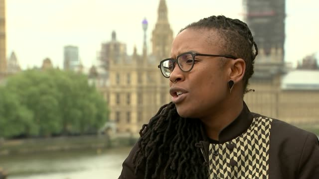 UN Special Rapporteur on racism alarmed at rise in hate crimes ENGLAND London INT E Tendayi Achiume press conference SOT E Tendayi Achiume along...