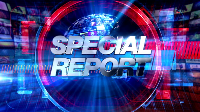 Special Report - Broadcast Graphics Title Animation HD
