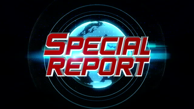special report - breaking news stock videos and b-roll footage