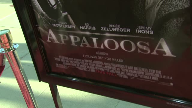 appaloosa special screening at los angeles ca - appaloosa stock videos and b-roll footage