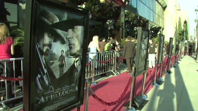 appaloosa special screening at los angeles ca - appaloosa stock videos & royalty-free footage