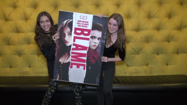 CLEAN Special Screening of 'Blame' on January 05 2018 in New York City