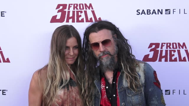 la special screening of lionsgate's 3 from hell on september 16 2019 in los angeles california - rob zombie stock videos & royalty-free footage