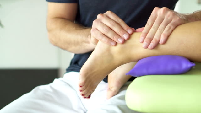 special treatment for achilles tendon - tendon stock videos & royalty-free footage