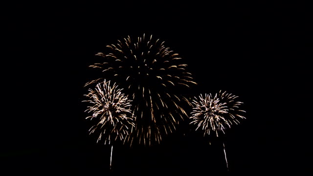 spectacular colorful firework display - circa 4th century stock videos & royalty-free footage