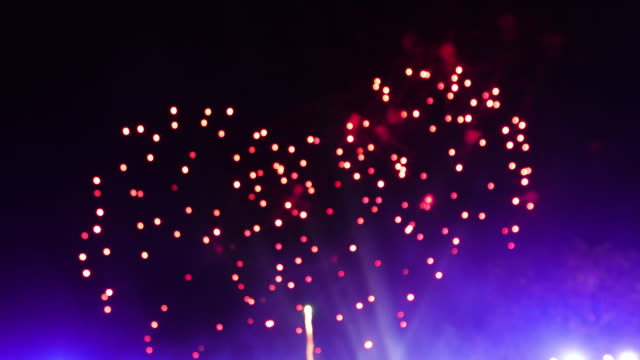 4K Spectacular Fireworks and fantastic wonderful Firework