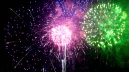 Spectacular Fireworks Finale in HD