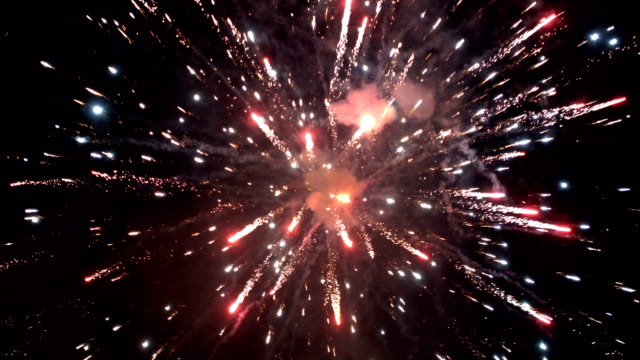 spectacular fireworks - firework display stock videos & royalty-free footage