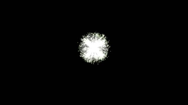 壮大な多色花火 - firework display点の映像素材/bロール