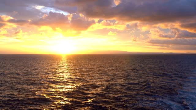 Spectacular Sunrise Over The Horizon