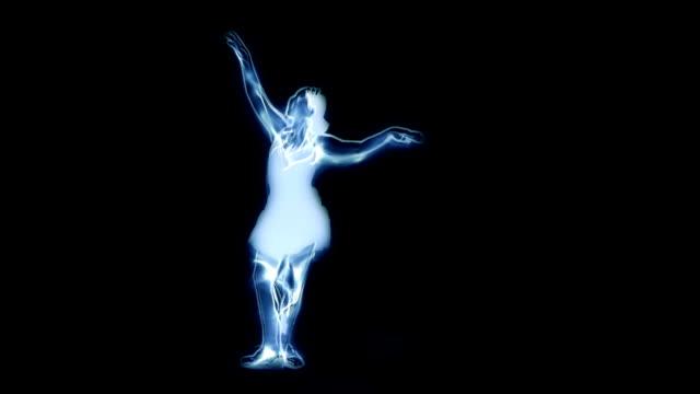 Spettrale Ballerino di danza classica