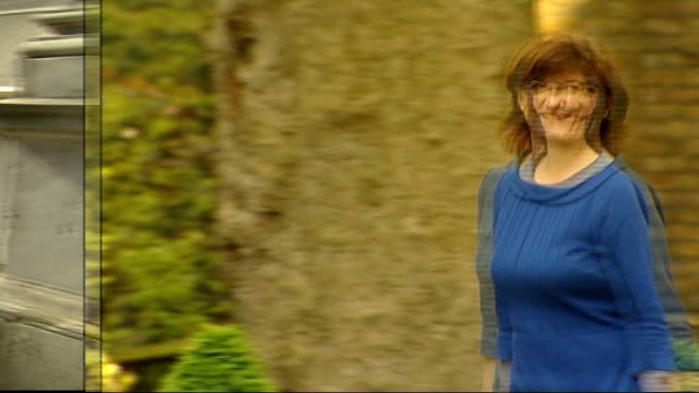 speculation ahead of cabinet reshuffle; r09041418 / nicky morgan mp along - 内閣改造点の映像素材/bロール