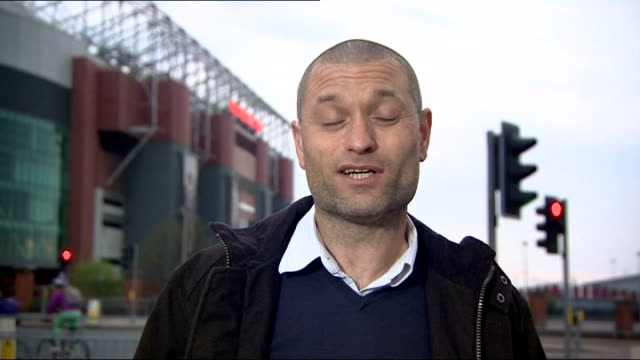 speculation over future of david moyes at manchester united jamie jackson interview sot expect moyes to be sacked sooner or later / expect ryan giggs... - replacement stock videos and b-roll footage