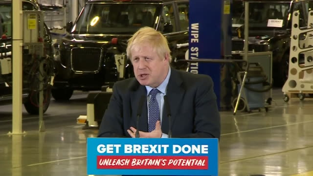 speech boris johnson in coventry about brexit it's been paralysing parliament for the last three years and the only way to get brexit done is to vote... - 10 11 years stock videos & royalty-free footage
