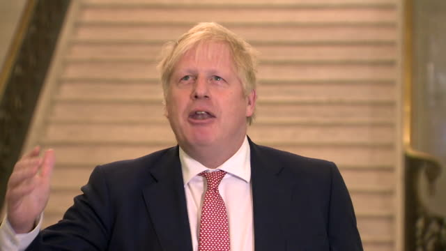 speech boris johnson pm at stormont to mark the restoration of devolved government to northern ireland i see the hand of the future beckoning us... - fun stock videos & royalty-free footage