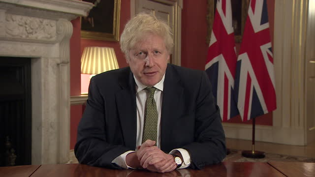 speech boris johnson pm, gives instructions of what people can leave home for, after announcing national lockdown due to rising coronavirus cases - instructions stock videos & royalty-free footage