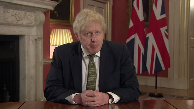 speech boris johnson pm, sets out timeline for covid-19 vaccination roll out programme, and if all goes to plan, when we can come out of lockdown and... - motivation stock videos & royalty-free footage