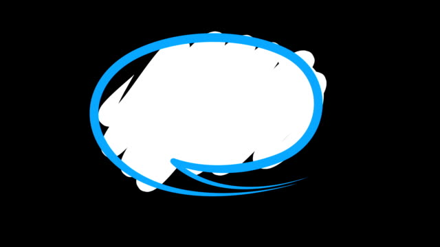 speech bubbles - speech bubble stock videos & royalty-free footage