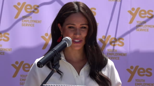 speech duchess of sussex in johannesburg on what the africa tour has meant to them thankyou for welcoming us so warmly strongly beautifully into your... - affectionate stock videos & royalty-free footage