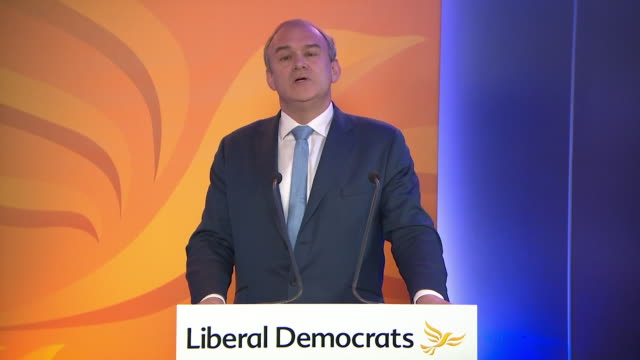 speech ed davey, leader of the liberal democrats, about being a carer for his mother and the need to promote the interests of carers in his first... - social services stock videos & royalty-free footage