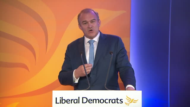 speech ed davey, leader of the liberal democrats, about the party needing to change if they want to win over voters, in his first speech as leader of... - desire stock videos & royalty-free footage