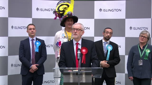 speech jeremy corbyn after winning his islington north seat on a disppointing night for labour in the general election i want to make it clear i will... - election stock videos & royalty-free footage