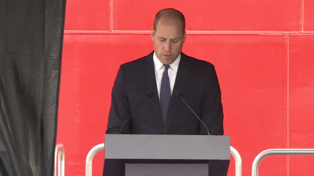 speech prince william at the naming ceremony of the uk's new polar research ship rrs sir david attenborough we are here to celebrate a true british... - bbc stock videos & royalty-free footage