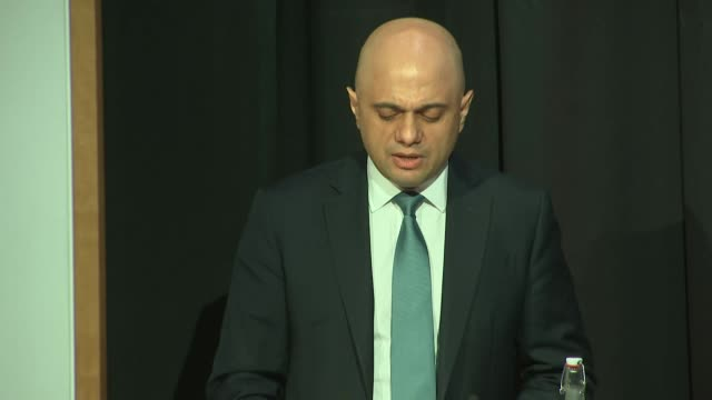 speech sajid javid home secretary at online harms white paper about social media regulation we cannot allow leaders of tech companies to simply look... - home secretary stock videos & royalty-free footage