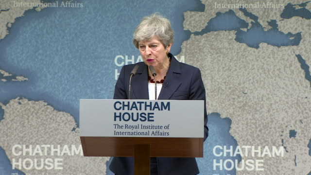 speech theresa may pm at chatham house about the extradition and charging of hashem abedi for the manchester arena terror attack he is the younger... - north africa stock videos & royalty-free footage