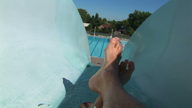 speed water slide - water slide stock videos & royalty-free footage