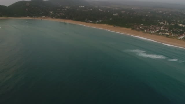aerial speedboat on ocean/ ponta do ouro/ mozambique - mozambique stock videos & royalty-free footage