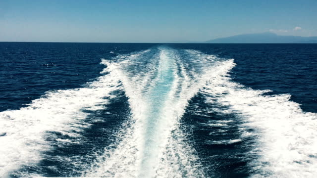 speedboat ride. - front view stock videos & royalty-free footage
