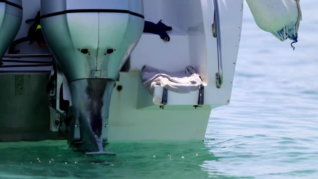 speedboat waiting trip