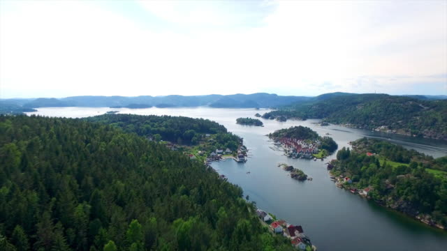 speeding over the fjords - telemark stock videos and b-roll footage