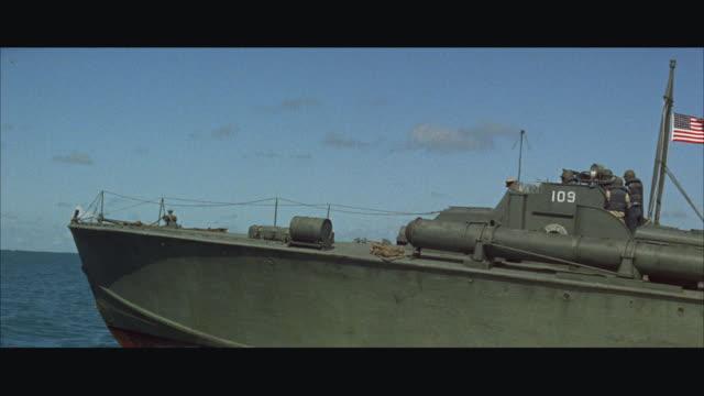MS PAN Speeding P-T boat in sea / USA