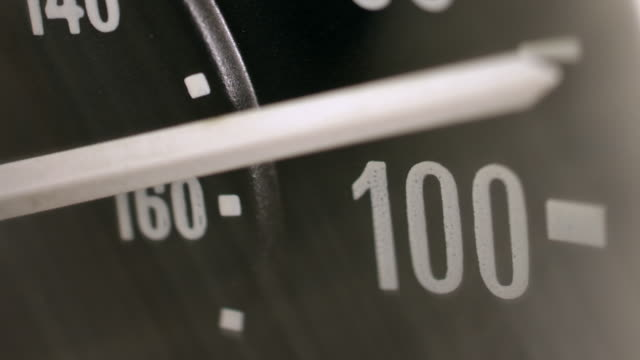 speedometer - velocità video stock e b–roll