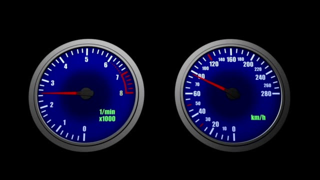 speedometer - speedometer stock videos & royalty-free footage