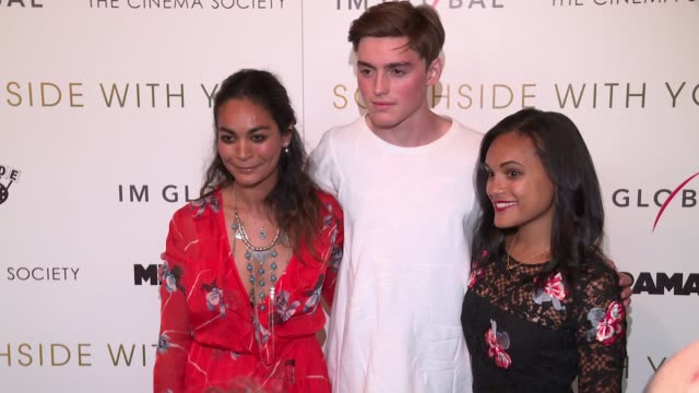 Spencer List and guests at Southside With You screening at Sunshine Landmark on August 24 2016 in New York City