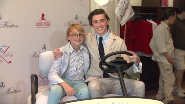 Spencer List at BROOKS BROTHERS Hosts Mini Classic to Benefit St Jude Children's Research Hospital at Brooks Brothers in Los Angeles CA